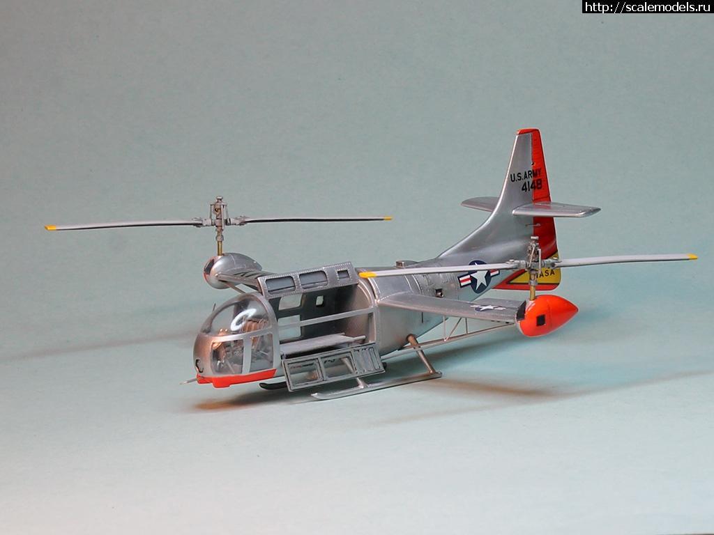 #1266193/ Bell XV-3 Anigrand 1/72 ГОТОВО Закрыть окно