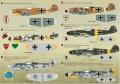 Звезда 1/48 Bf 109F4Trop Stab II.JG27 Ernst Dullberg. Ливия 1942
