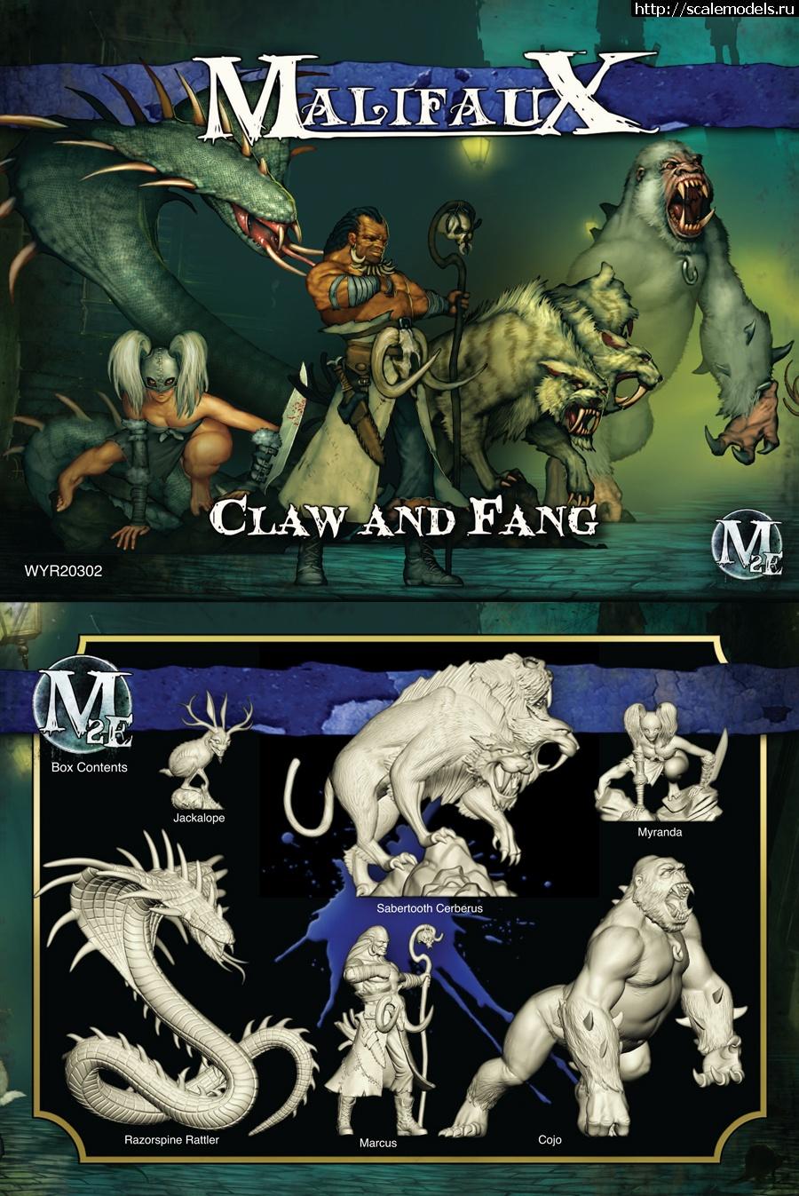 """Wyrd-Games Malifaux """"Claw & Fang"""" (ГОТОВО) Закрыть окно"""