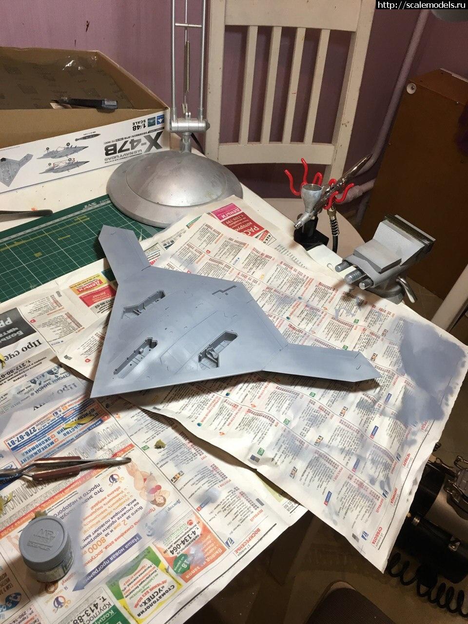 #1291367/ 1/48 Freedom model kits X-47B Закрыть окно
