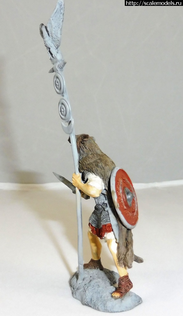 #1295128/ Римские центурион и аквилифер - 54 мм, Солдатики Публия Закрыть окно