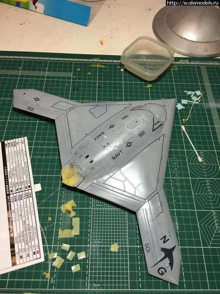 #1295333/ 1/48 Freedom model kits X-47B Закрыть окно