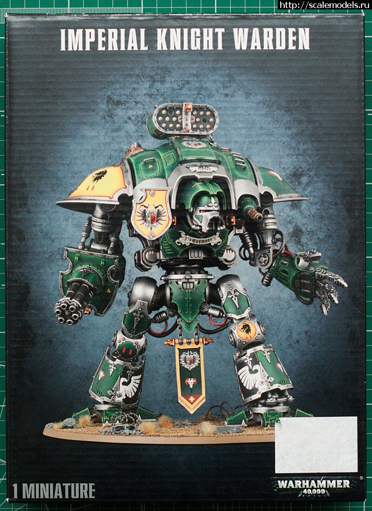 GamesWorkshop Imperial Knight (Warhammer 40k) - готово Закрыть окно