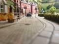 Диорама Улица на окраине