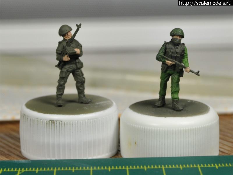 #1307795/ Alex Miniatures - Бойцы РА 1/72 Готово Закрыть окно