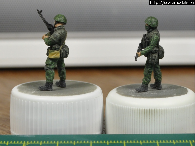 #1308124/ Alex Miniatures - Бойцы РА 1/72 Готово Закрыть окно