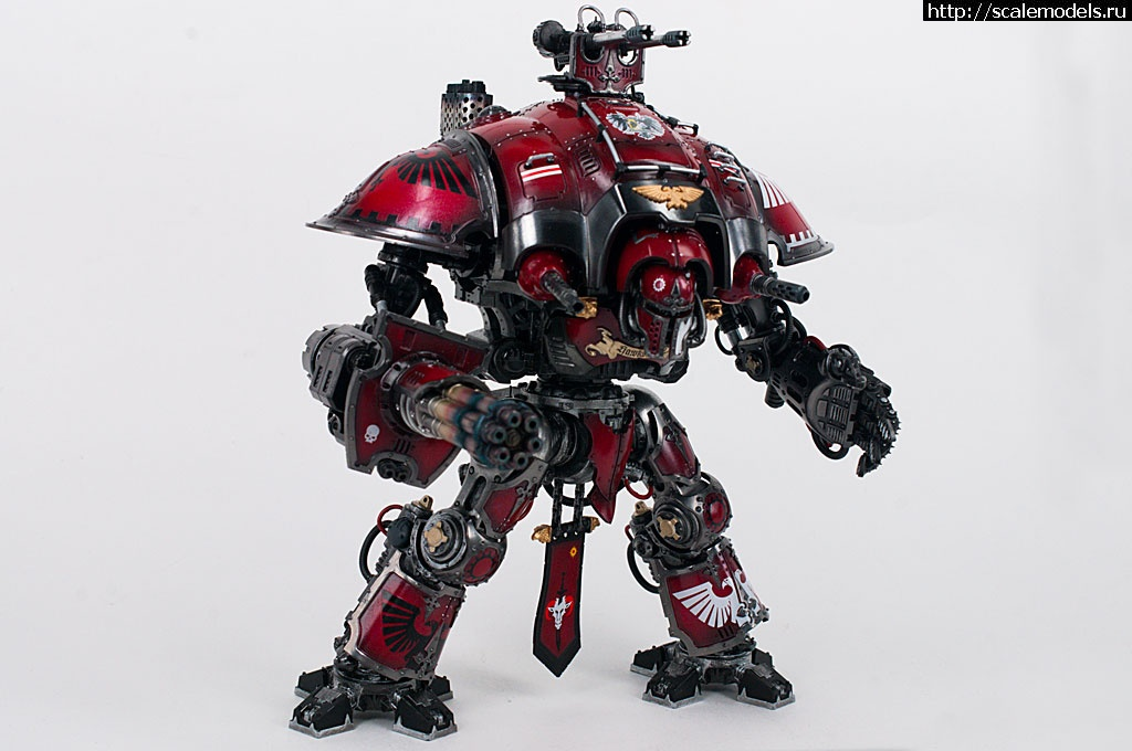 #1308133/ GamesWorkshop Imperial Knight (Warhammer 40k) - готово Закрыть окно