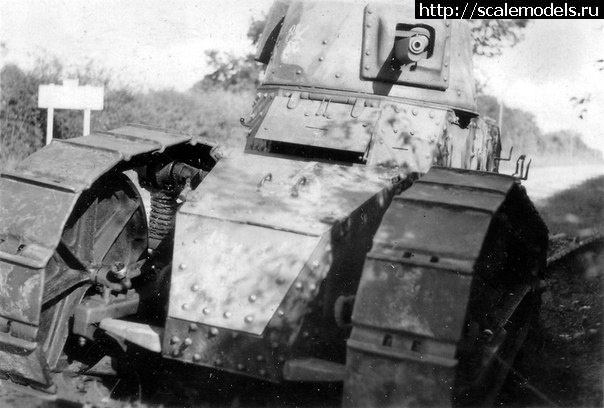 Потеки/ Meng 1/35 Renault FT-17(#10421) - обсуждение Закрыть окно