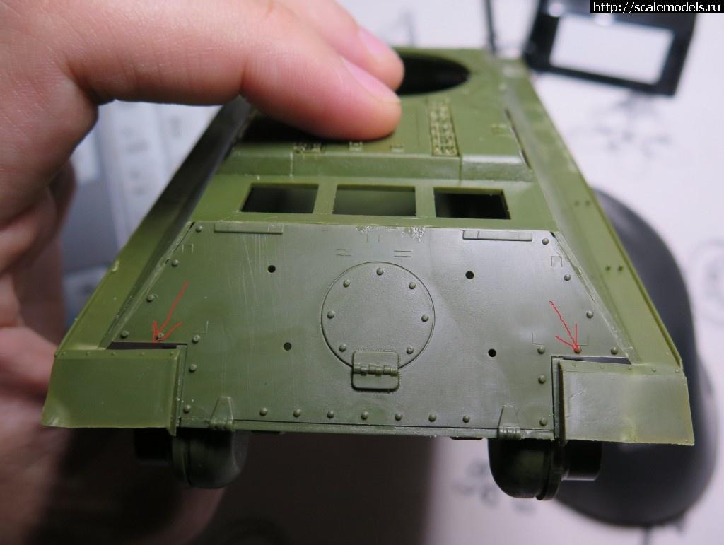 #1315427/ Zvezda 1/35 T-34-85 - Первый опыт(#7770) - обсуждение Закрыть окно