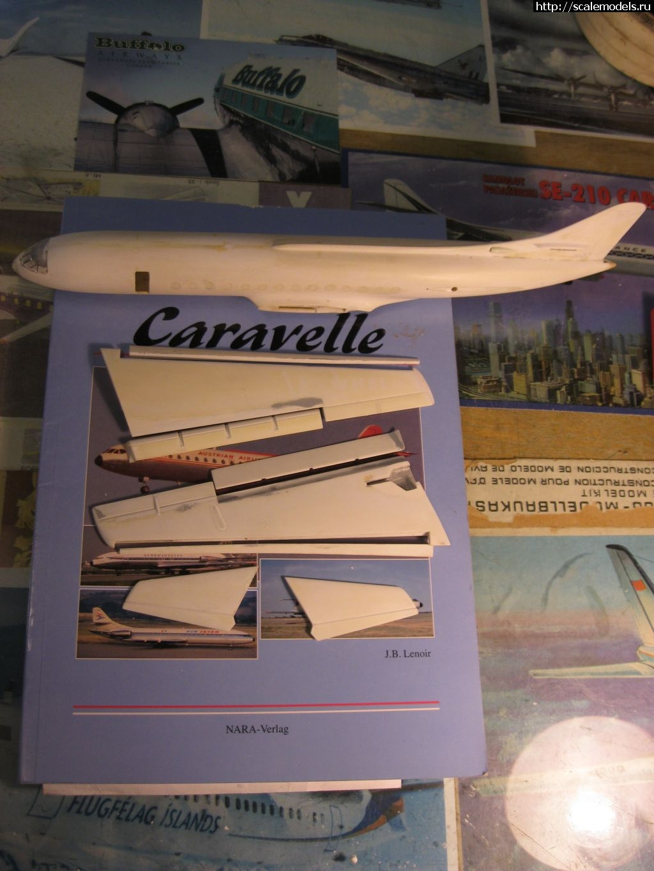 #1323052/ SUD Caravelle 01 (1й прототип), лизинг SAS, 1:100, Heller Закрыть окно