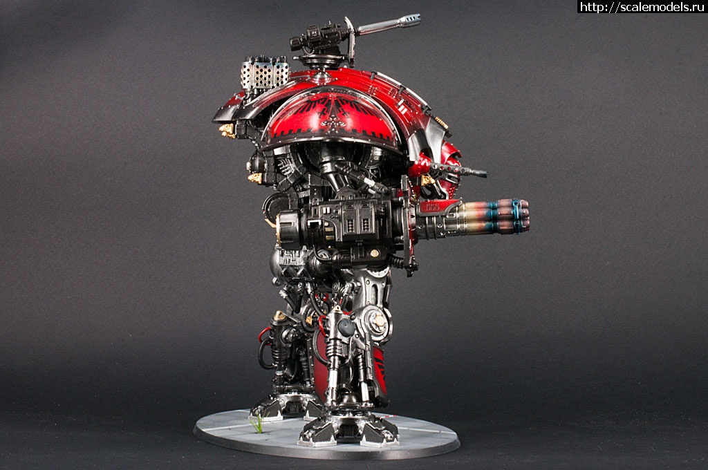 Готово/ GamesWorkshop Imperial Knight (Warhammer 40k) - готово Закрыть окно