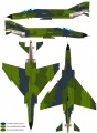 Hobbycraft 1/72 Phantom F4E - Модель модели самолета