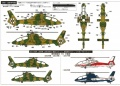 Обзор Aoshima 1/72 Kawasaki OH-1 Ninja - что в коробке?