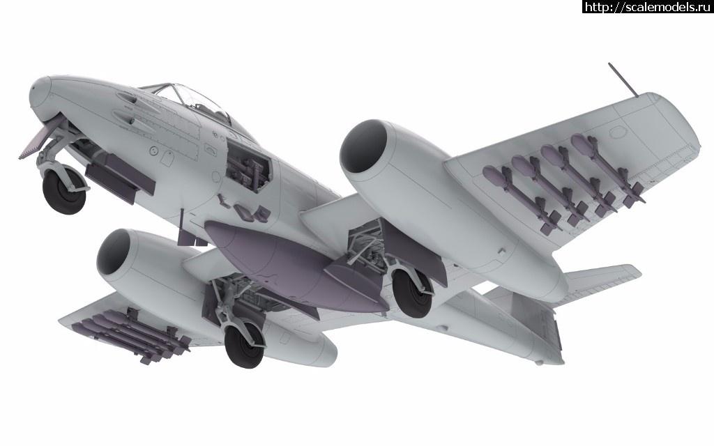 Анонс Airfix 1/48 Gloster Meteor F.8 Korean War - тестовые отливки и рендеры Закрыть окно