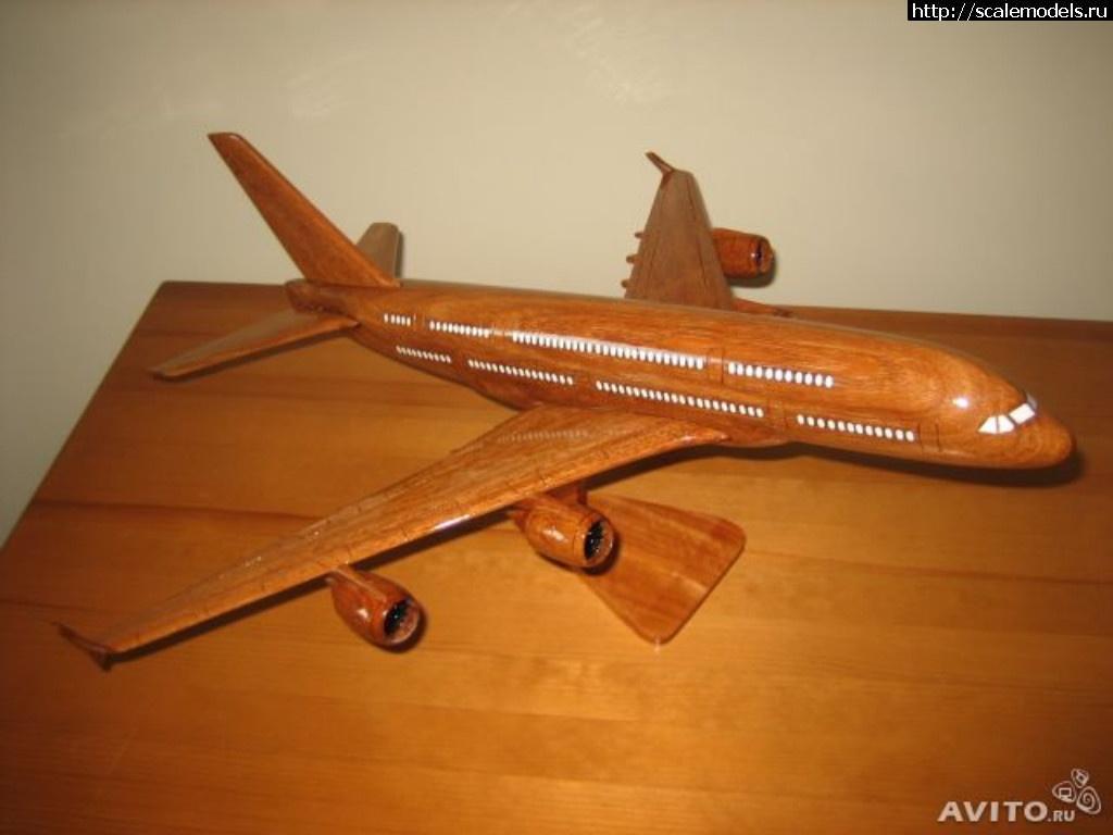 Как сделать модель самолеты из дерева 59