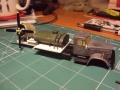Конверсия 1/72 Краз-258 Ветровая машина холодного обдува с двигателем АШ-82