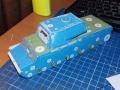 КВ-1 1/35 - Самопил на основе картона и пластика