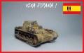 MasterBox 1/72 Командирский танк Т-1 в Испании
