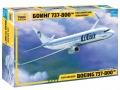 Анонс Звезда 1/144 Boeing 737-800 UTair - коробка
