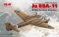 Анонсы ICM 1/48 Ju 88A-11, Германский бомбардировщик ІІ МВ