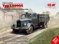 ICM 1/35 Typ L3000S, Германский грузовой автомобиль ІІ МВ (рендеры)