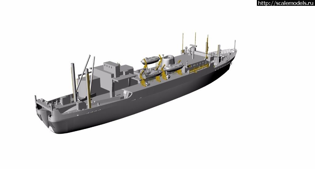 Анонс Комбриг 1/700 научно-исследовательское судно Ихтиандр проекта 399б Закрыть окно
