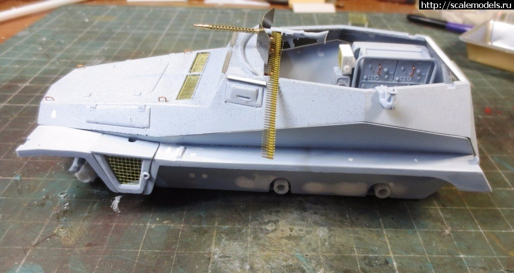 Sd.Kfz.250 1/32 - пост наведения ПВО  ГОТОВО Закрыть окно