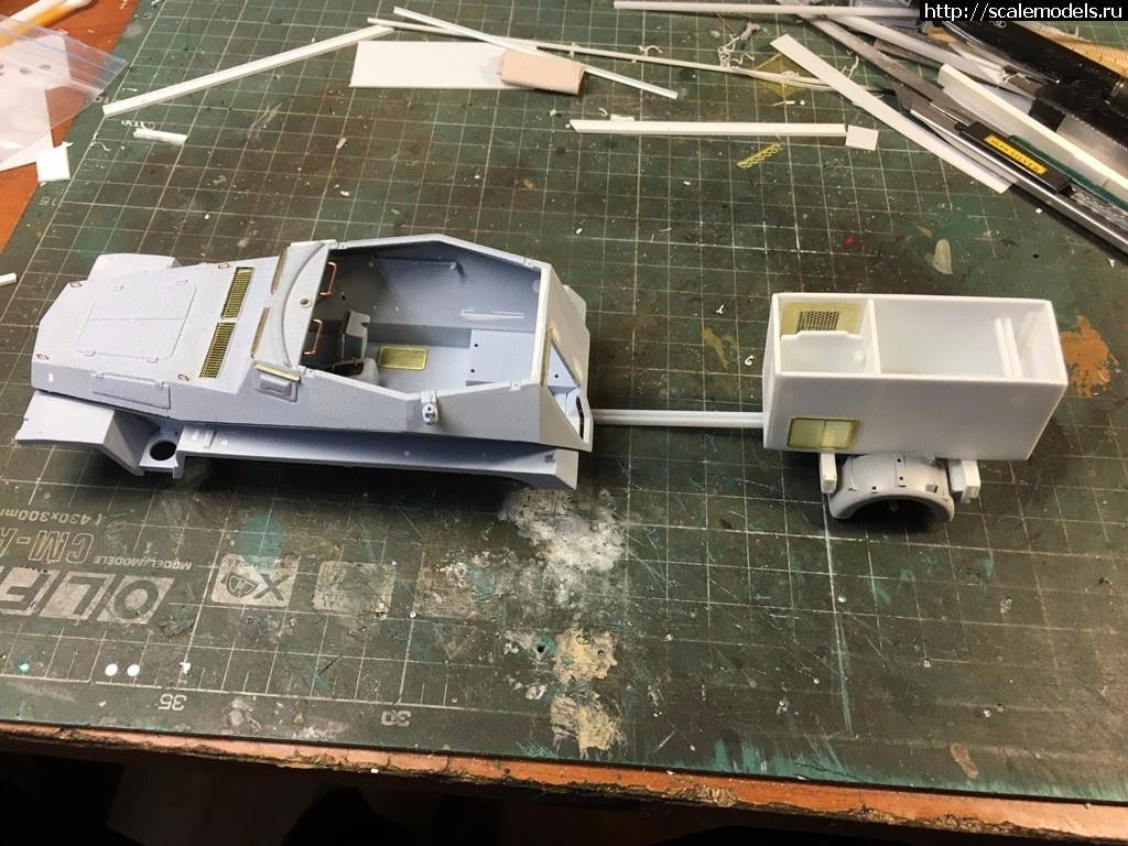 #1367969/ Sd.Kfz.250 1/32 - пост наведения ПВО  ГОТОВО Закрыть окно