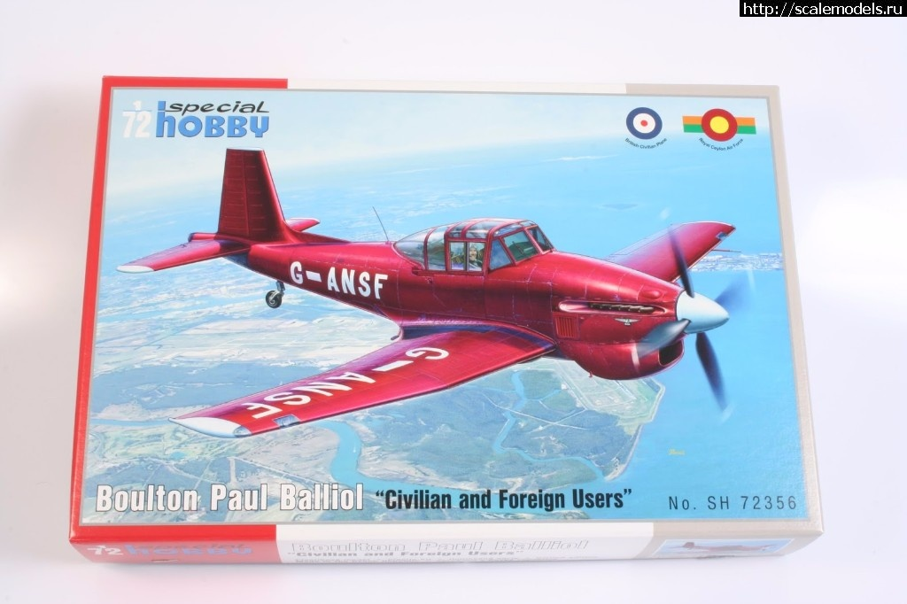 Анонс Special Hobby 1/72 Boulton Paul Balliol Civilian and Foreign Users Закрыть окно