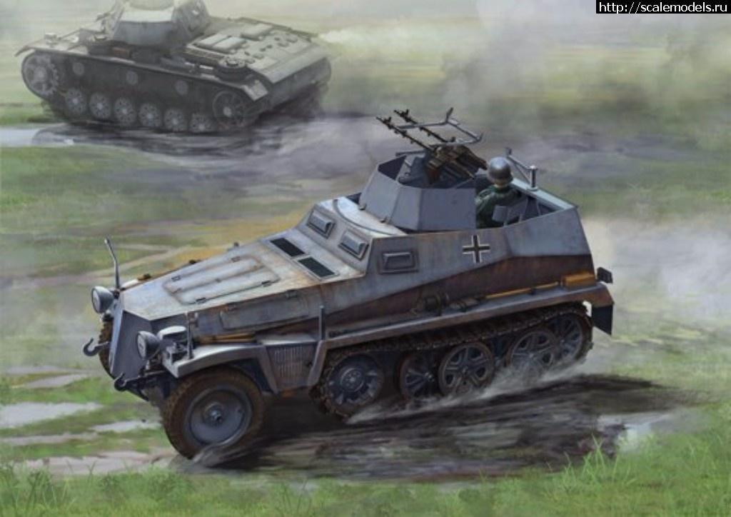 Анонс Dragon 1/35 Sd.Kfz.250/4 Ausf A leichter Truppenluftschützpanzerwagen Закрыть окно