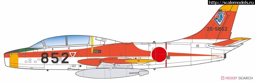 Анонс Platz 1/72 JASDF T-1B Jet Training Aircraft Закрыть окно