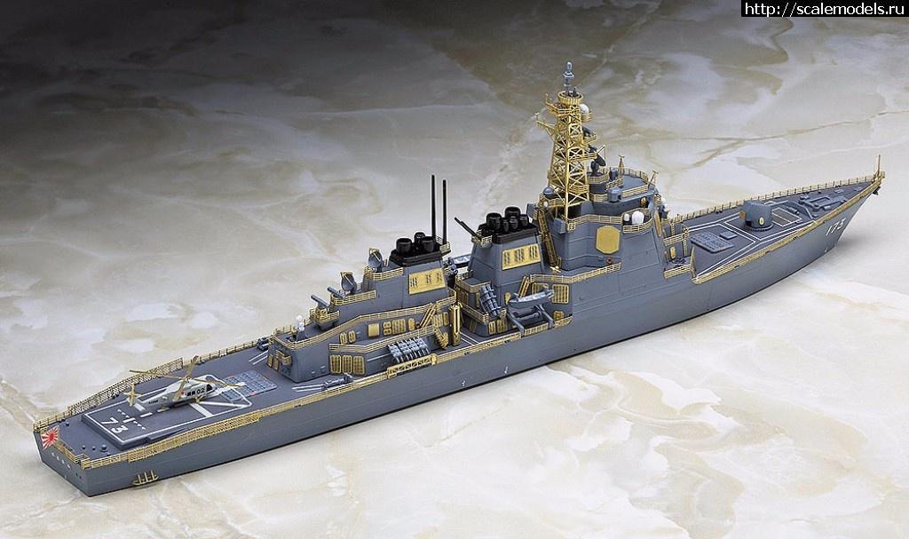 Анонс Hasegawa 1/700 JMSDF DDG Kongo Hyper Detail Limited Edition Закрыть окно