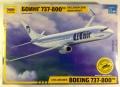 Обзор Звезда Boeing 737-800 1/144 - Сравнение с Revell