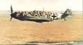 Tamiya 1/48 Bf-109E-7/trop – Черная Восьмерка Шроера