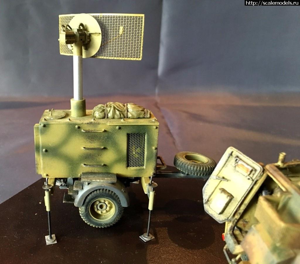 #1378208/ Sd.Kfz.250 1/32 - пост наведения ПВО  ГОТОВО Закрыть окно