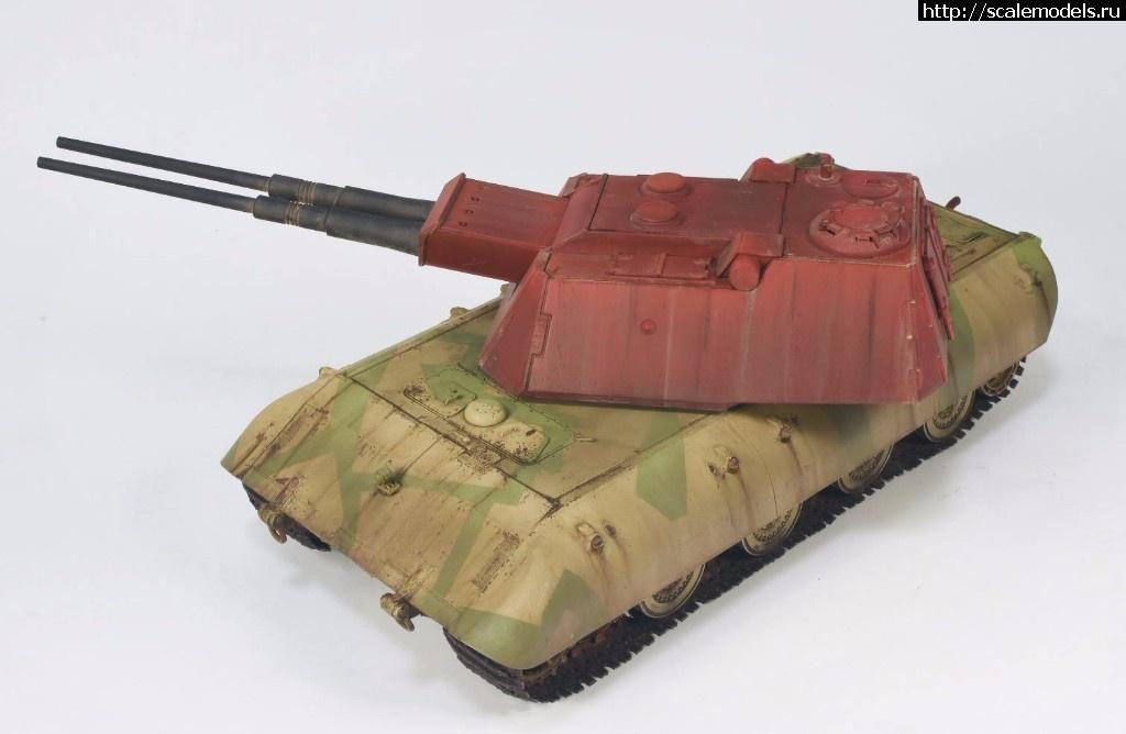Amusing Hobby 35A016 1//35 Flakpanzer E-100 8.8cm Flakzwilling