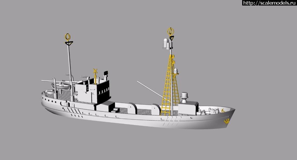 1//700 Modern Russian Buyan Class Corvette Project 21631 Resin Kit