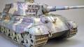 Звезда 1/35. Pz.Kpfw.VI Ausf.B. - Король в засадной мантии