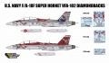 Анонс декали DXM Decals (Double Excellent Model) US Navy F/A-18F Super Hornet VFA-102 Diamondbacks