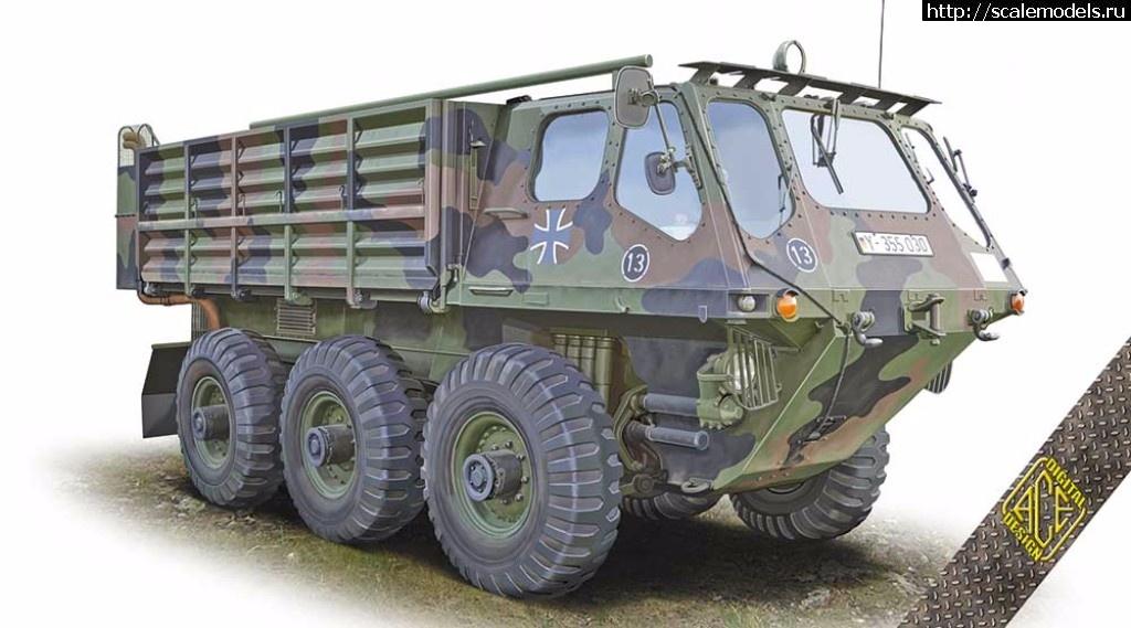 Анонс ACE 1/72 FV-622 Stalwart Mk.2 Закрыть окно