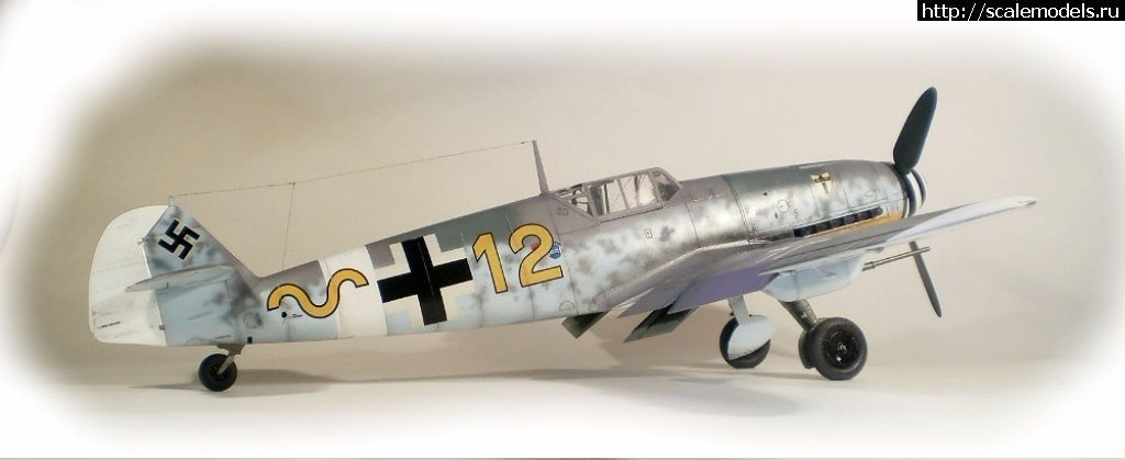#1392561/ Hasegawa 1/32 Bf109G-4(#11197) - обсуждение Закрыть окно