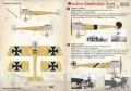 Обзор Print Scale 1/72 Декаль Fokker Eindecker Aces