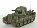 Dragon+Trumpeter 1/35 5,5 cm Zwilling Flakpanzer mit Panther