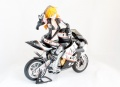 FG3509 Asuka with Motorcycle - Black and White