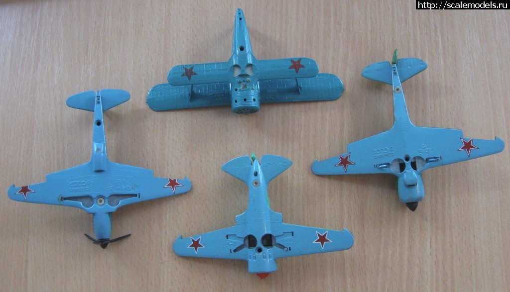 Изучаю спрос - металлические модели самолетов ВОВ - СССР Закрыть окно
