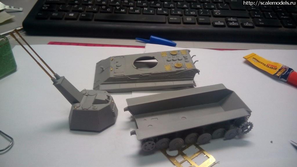 #1395952/ Modelcollect 1/72 E-50 Flakpanzer with FLAK 55 Готово! Закрыть окно