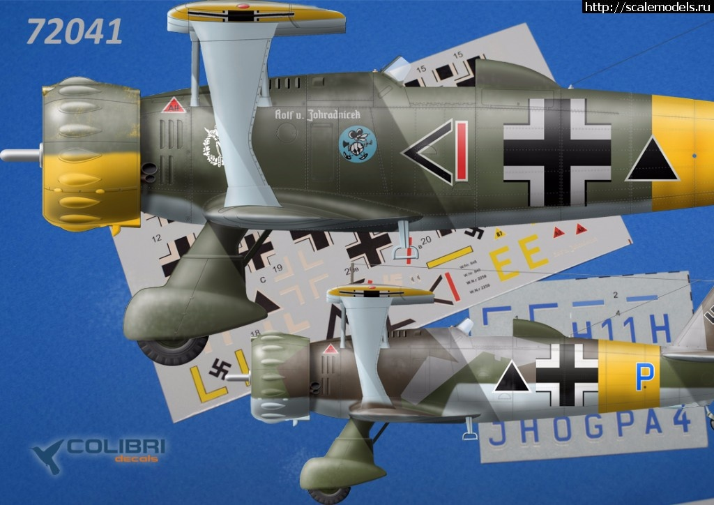 Декаль Колибри 1/72 Hs-123 over USSR  Закрыть окно