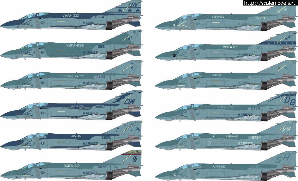 Анонс декаль Furball Aero-Design 1/48 McDonnell Douglas F-4J/S Lo-Viz Devil Dog Rhinos Закрыть окно