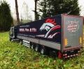 Italeri 1/24 Scania 164L TOPCLASS 580 CV и Cargo Trailer