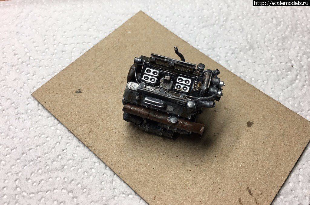 #1402730/ 5,5 cm Flakpanzer mit PzKpfw V «Panther» Ausf G - ГОТОВО Закрыть окно